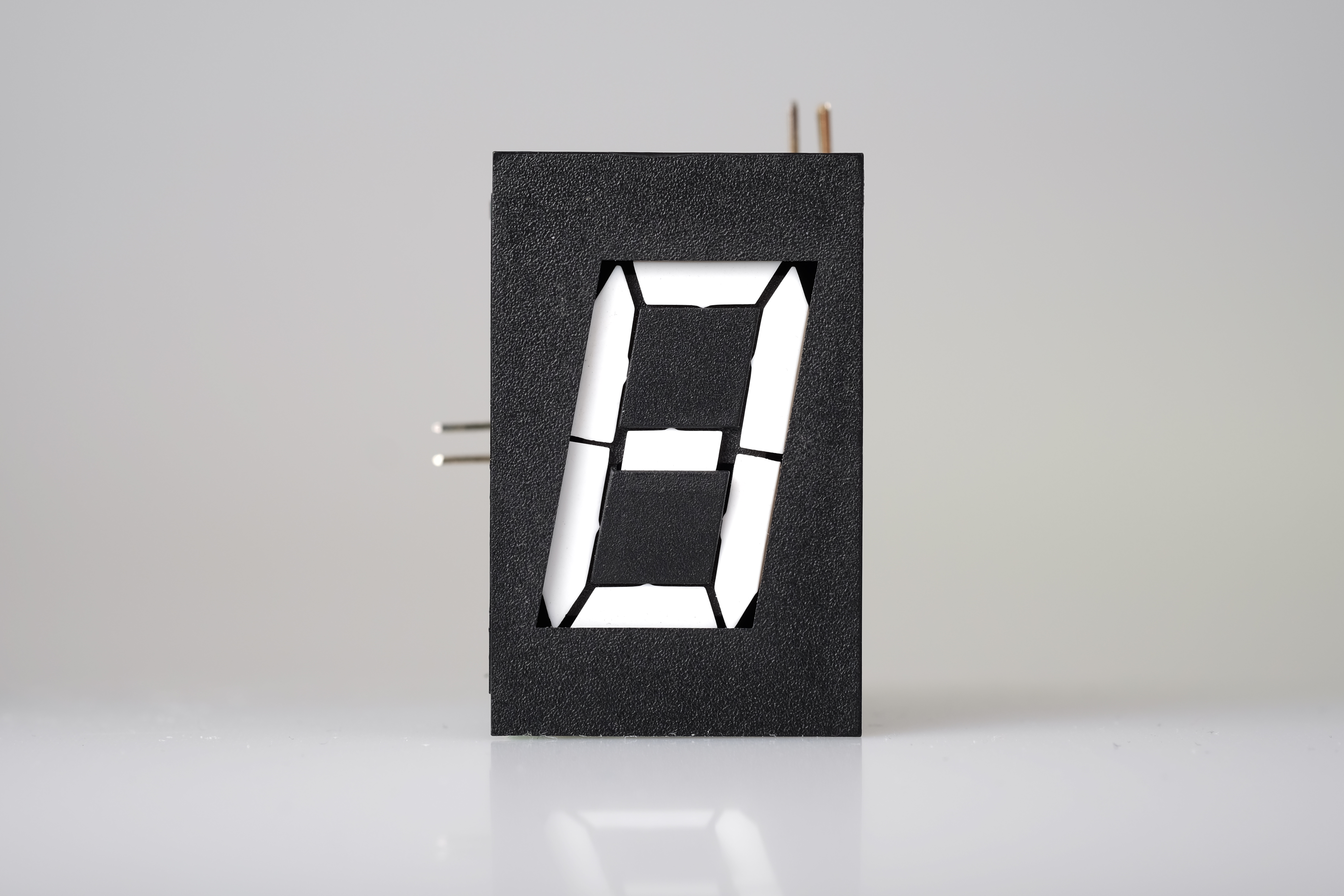 Electromagnetic Flip Digit Display Components Alfazeta 42 What Happens When A Circuit Is On The Complete Lights Consisting Of 7 Operated Light Reflecting Segments Module Can Digits 0 9 Plus Limited